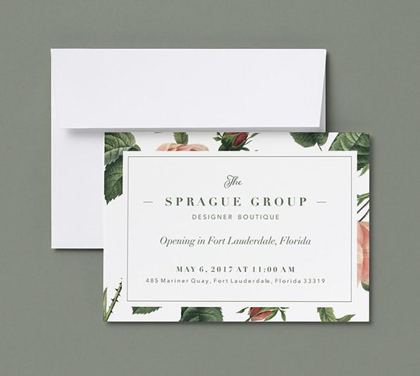 Foil Lettering Card