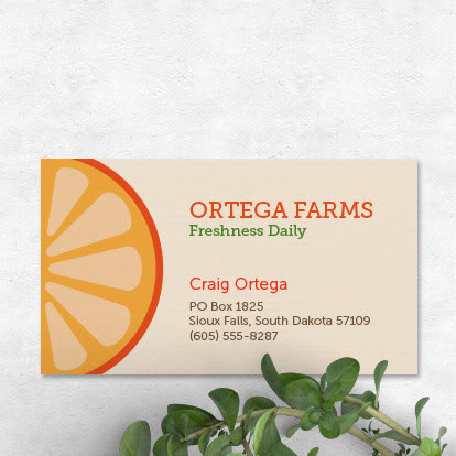 Print custom Business Cards