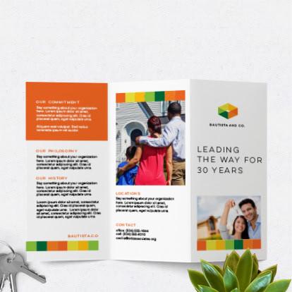 custom brochures printing
