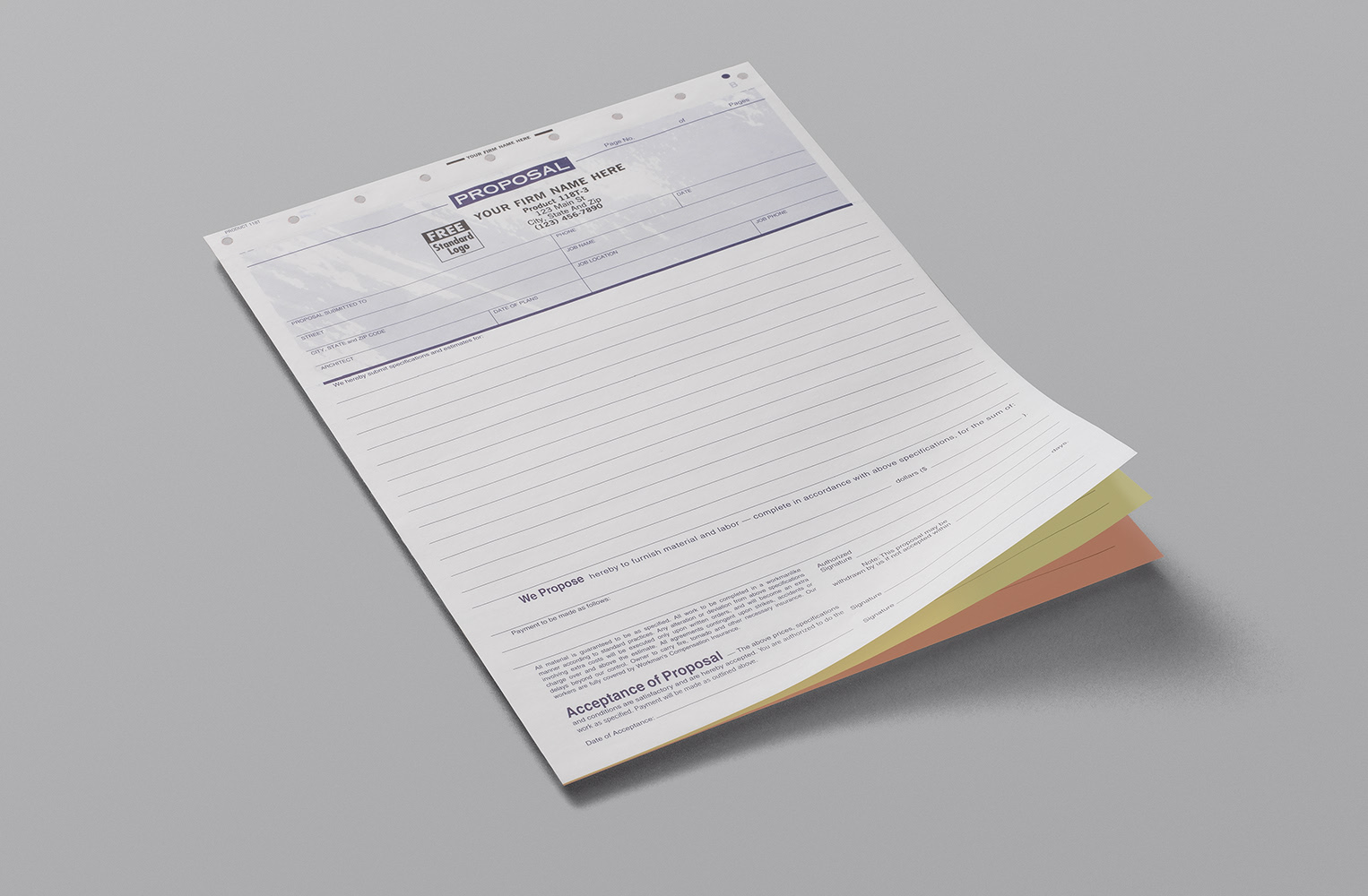 Custom Business Forms Carbonless Forms Staples